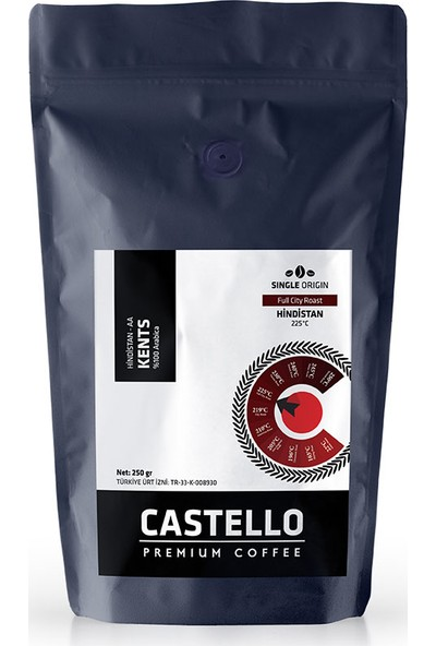 Castello Kents AeroPress Kahve 250 gr