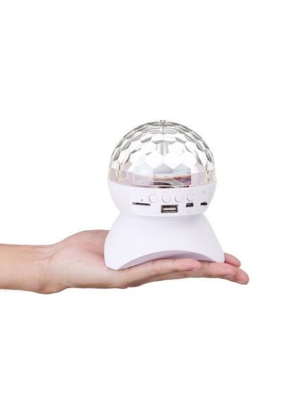 Insma Kablosuz Bluetooth Hopralör 3.0 Disko Topu (Yurt Dışından)