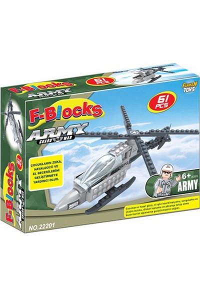 Furkan Toys F-Blocks Asker Seti 61 Parça