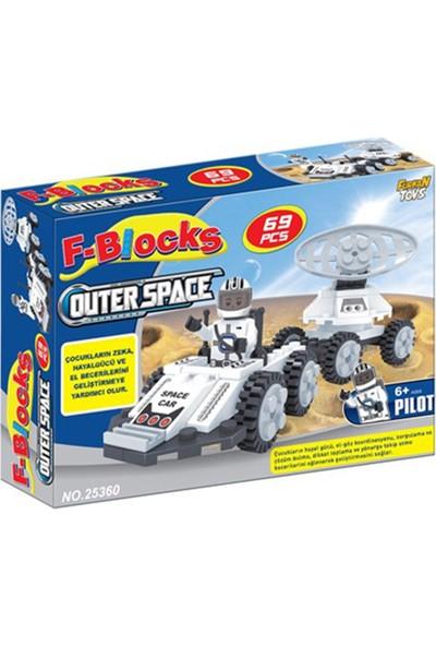 Furkan Toys F-Blocks Uzay Seti 69 Parça
