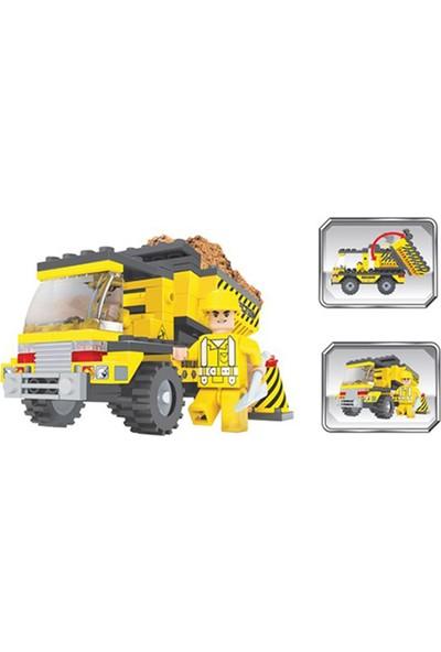 Furkan Toys F-Blocks İnşaat Seti 115 Parça