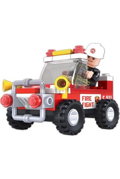 Furkan Toys F-Blocks Itfaiye Seti 58 Parça