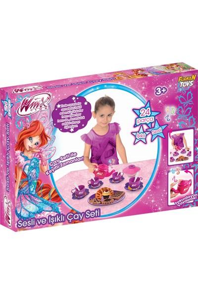 Furkan Toys Winx Sesli ve Işıklı Çay Seti