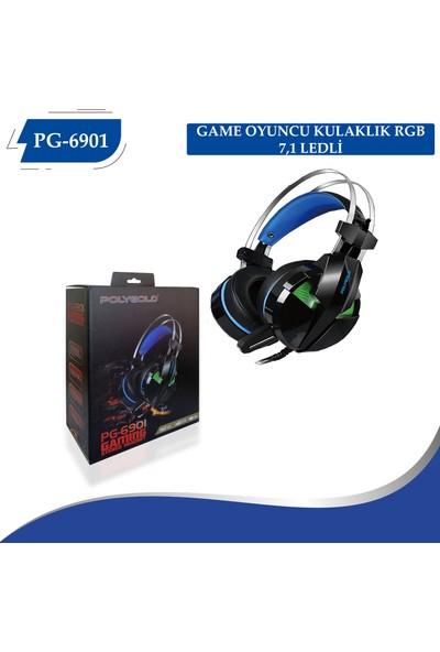 PolyGold PG-6901 Kulaküstü Kulaklık