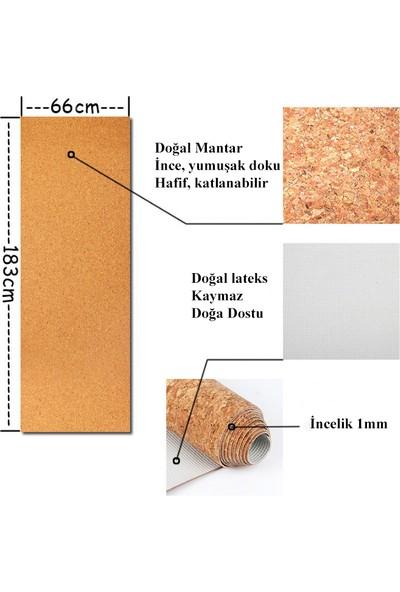 Yogatime Mantar Travel Yoga Mat 1 mm