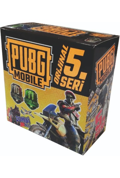 Pubg 5.seri Oyun Kartları 120 Paket 360 Kart
