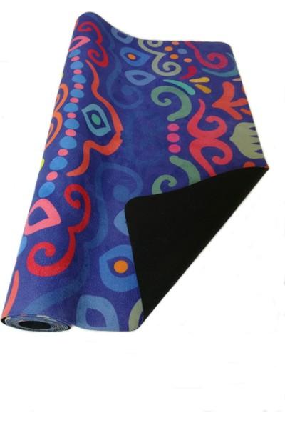 Yogatime Silky Travel Mat 1 mm Desenli Cosmos