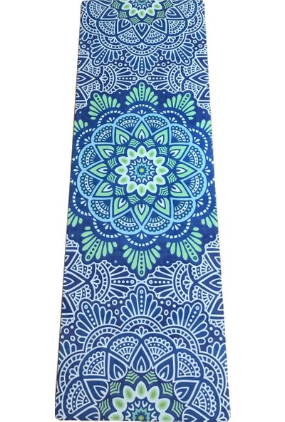 Yogatime Silky Travel Mat 1 mm Desenli Lotus Heart