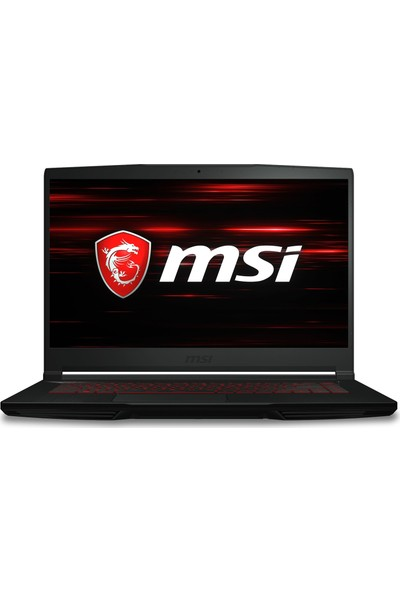 "MSI GF63 Thin 9SCXR-618XTR Intel Core i5 9300H 8GB 256GB SSD GTX1650 Freedos 15.6"" FHD Taşınabilir Bilgisayar"