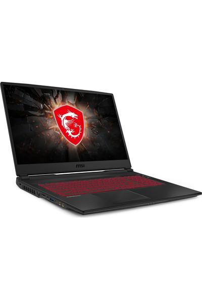 "MSI GL75 Leopard 10SDR-286XTR Intel Core i7 10750H 16GB 512GB SSD GTX1660Ti Freedos 17.3"" FHD Taşınabilir Bilgisayar"