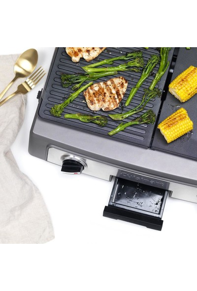 Cuisinart PL50E Plancha Barbekü Çok Işlevli Elektirikli Izgara
