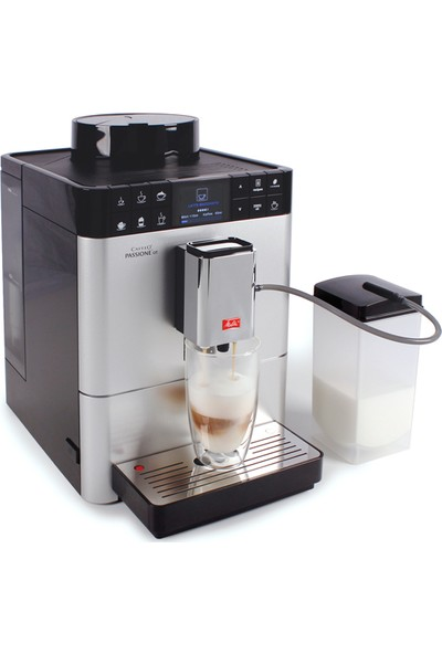 Melıtta Fully Automatıc Machıne Caffeo Passıone Ot Silver