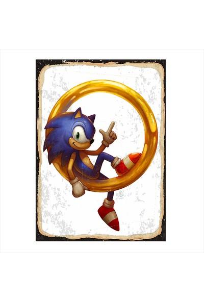 Tablomega Sonic Modern Ahşap Tablo
