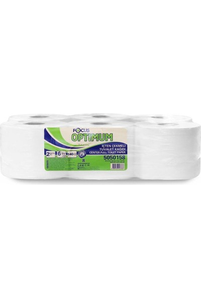 Focus Içten Çekmeli Tuvalet Kağıdı 140 M 6 Lı