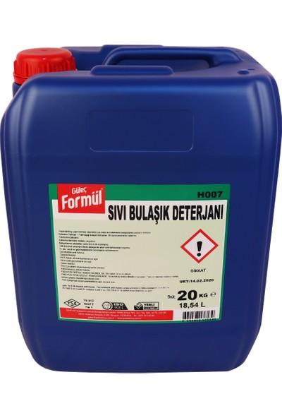 Güleç Formül Sıvı Bulaşık Deterjanı 20 kg