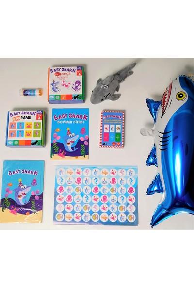 Minibon Baby Shark 8'li Oyuncak Seti