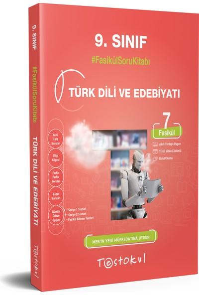 Testokul Yayınları 9.sınıf Türk Dili ve Edebiyatı Fasikül Soru Kitabı