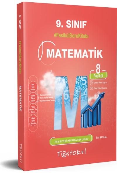 Testokul Yayınları 9.sınıf Matematik Fasikül Soru Kitabı