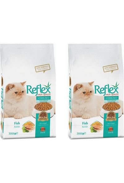 Reflex Balıklı Kısırlaştırılmış Kedi Maması 3 kg 2 Adet