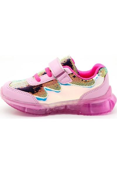 Noxis Glow Işıklı Kız Çocuk Yürüyüş ve Spor Ayakkabısı