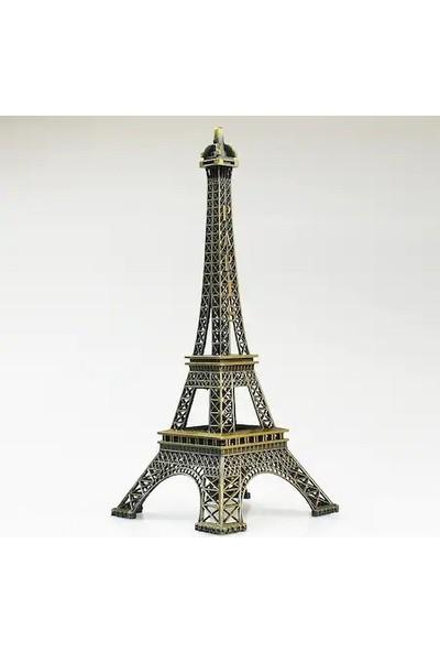 İstoç Toptan Metal Eyfel Kulesi Biblo, 22 cm