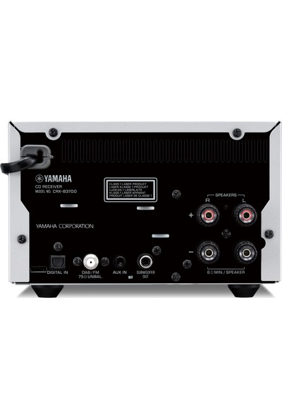 Yamaha MCR-N370D Cd&bluetooth Müzik Seti Gri