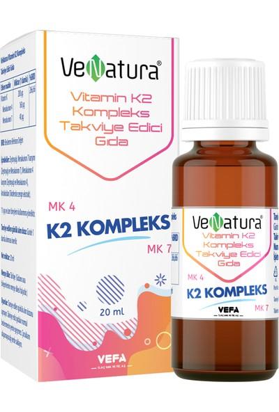 Venatura Vitamin K2 Kompleks 20 ml Damla