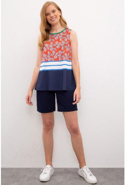 U.S. Polo Assn. Kadın Kırmızı T-Shirt 50218053-Vr039