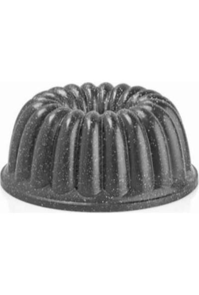 Thermoad Döküm Sık Dilimli Kek Kalıbı Gri 26 cm