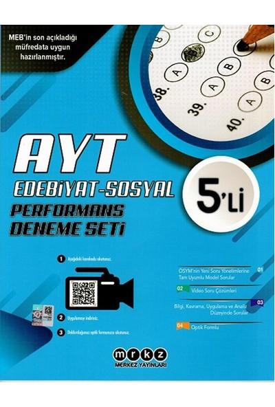 Merkez Yayınları Ayt Edebiyat Sosyal Bilimler Özel 5 Li Performans Deneme Seti