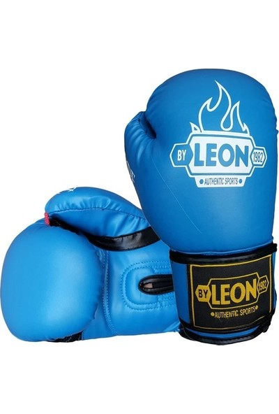 By Leon 1982 Leon Blade Training Boks, Kick Boks ve Muay Thai Eldiveni Mavi