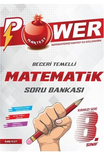 Nartest Yayınevi 8. Sınıf Power Matematik Soru Bankası