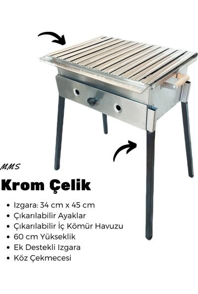 MMS Krom Çelik Mangal ( 34 x 45 )