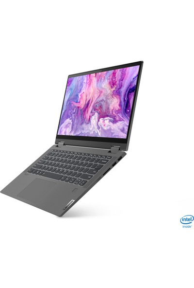 "Lenovo Flex 5‑14IIL Intel Core i7 1065G7 8GB 512GB SSD MX330 Windows 10 Home 14"" FHD Dokunmatik İkisi Bir Arada 81X10093TX"