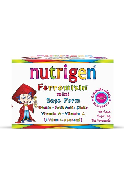 Nutrigen Ferromixin Mini Saşe Form 30 Saşe
