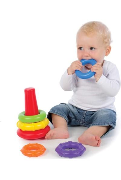 Playgro Çubuğa Geçen Halkalar Diş Kaşıyıcı Çıngırak Dişlik 7718