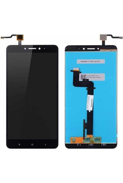 Parça Bankası Xiaomi Mi Max 2 LCD Ekran Dokunmatik Çıtalı Siyah