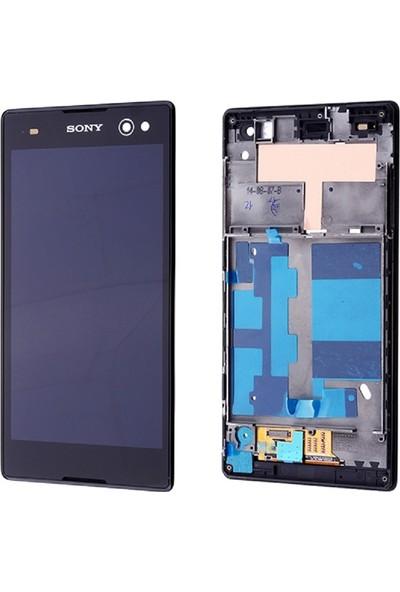 Parça Bankası Sony Xperia C3 LCD Ekran Dokunmatik Çıtasız Siyah