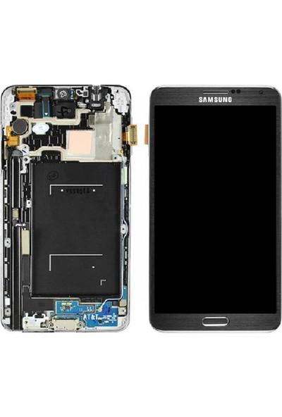 Parça Bankası Samsung Galaxy Note 3 LTE N9005 LCD Ekran Dokunmatik Revize Siyah