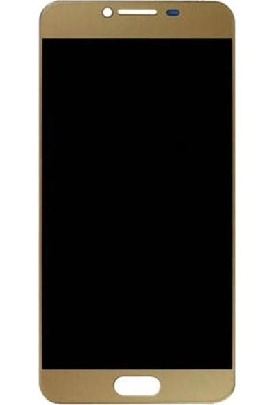 Parça Bankası Samsung Galaxy C5 C5000 LCD Ekran Dokunmatik OLED Gold