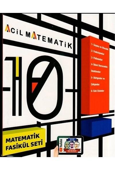 Acil Yayınları 10. Sınıf Acil Matematik 6'lı Fasikül Set