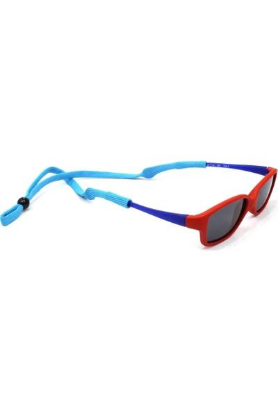 Mavi Tasarım Çocuk Yassı Esnek Sporcu Gözlük Ipi 7 Adet