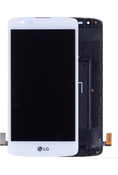 Parça Bankası LG K8 LCD Ekran Dokunmatik Çıtalı Beyaz