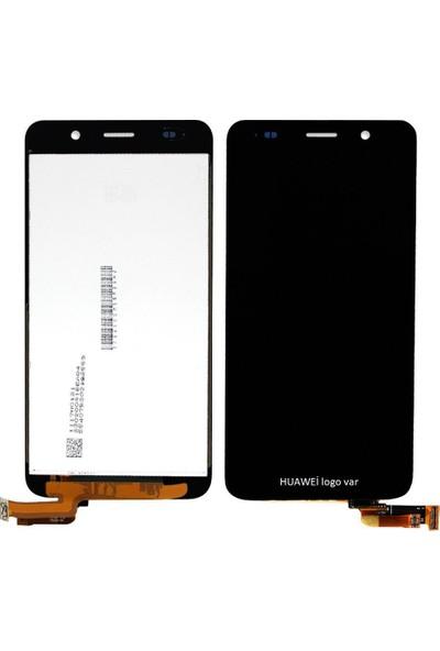 Parça Bankası Huawei Y6 LCD Ekran Dokunmatik Çıtasız Siyah
