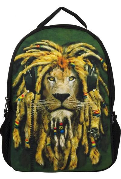 Cennec 103 Hippi Aslan Erkek Okul ve Günlük Sırt Çantası
