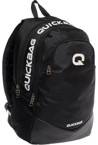 Quickbag Quickbag New Üç Gözlü Siyah Okul ve Günlük Sırt Çantası