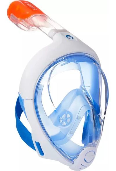 Subea Easybreath Su Altı Keşif Maskesi - Mavi