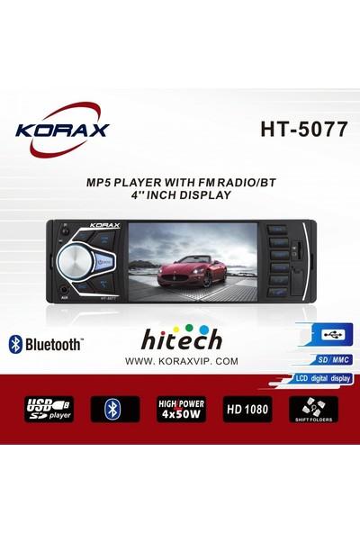 Korax HT-5077 4inç Yarım Ekran Oto Teyp