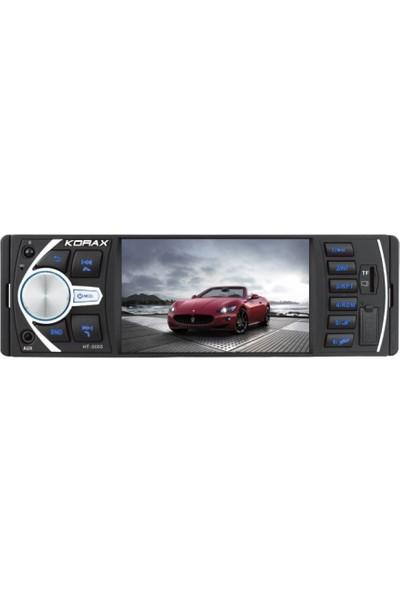Korax Hitech HT-5055 Yarım Ekran Oto Teyp (4 Inc)
