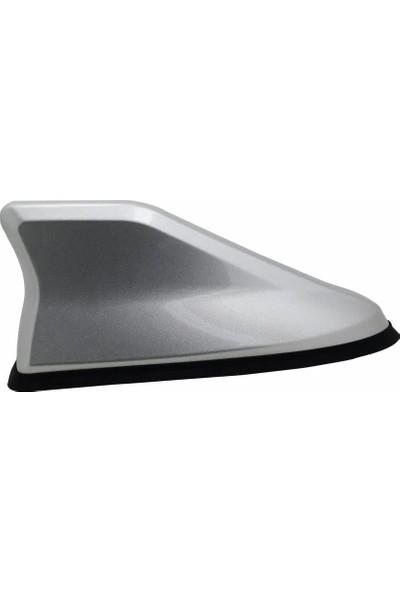 Rizline Toyota Verso 2004-2009 Gri Silikon Tabanlı Spor Köpekbalığı Anten